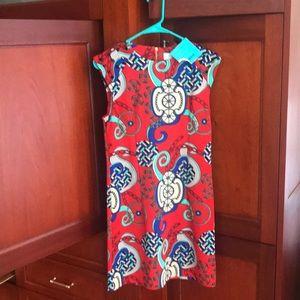 Tracy Negoshian Dress NWT sz S Red design